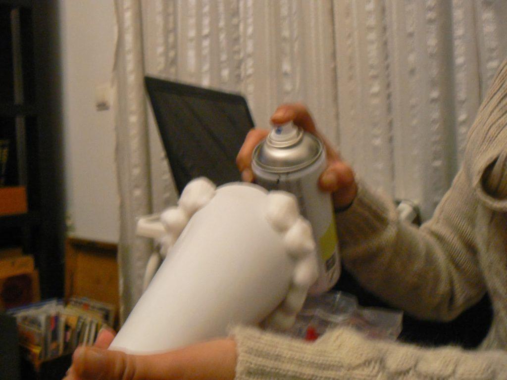 Πως να φτιάξεις ένα μίνι δεντράκι με μπαλίτσες βαμβακιού