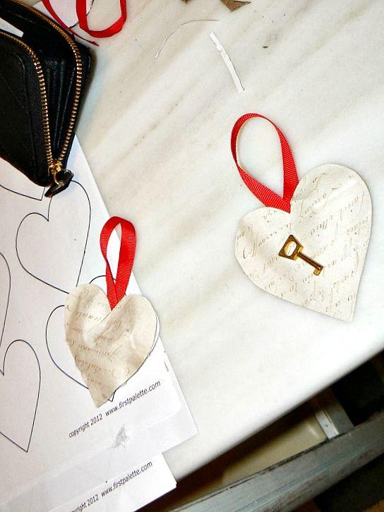 Πως έφτιαξα τις καρδιές για τις κορνίζες του Αγίου Βαλεντίνου