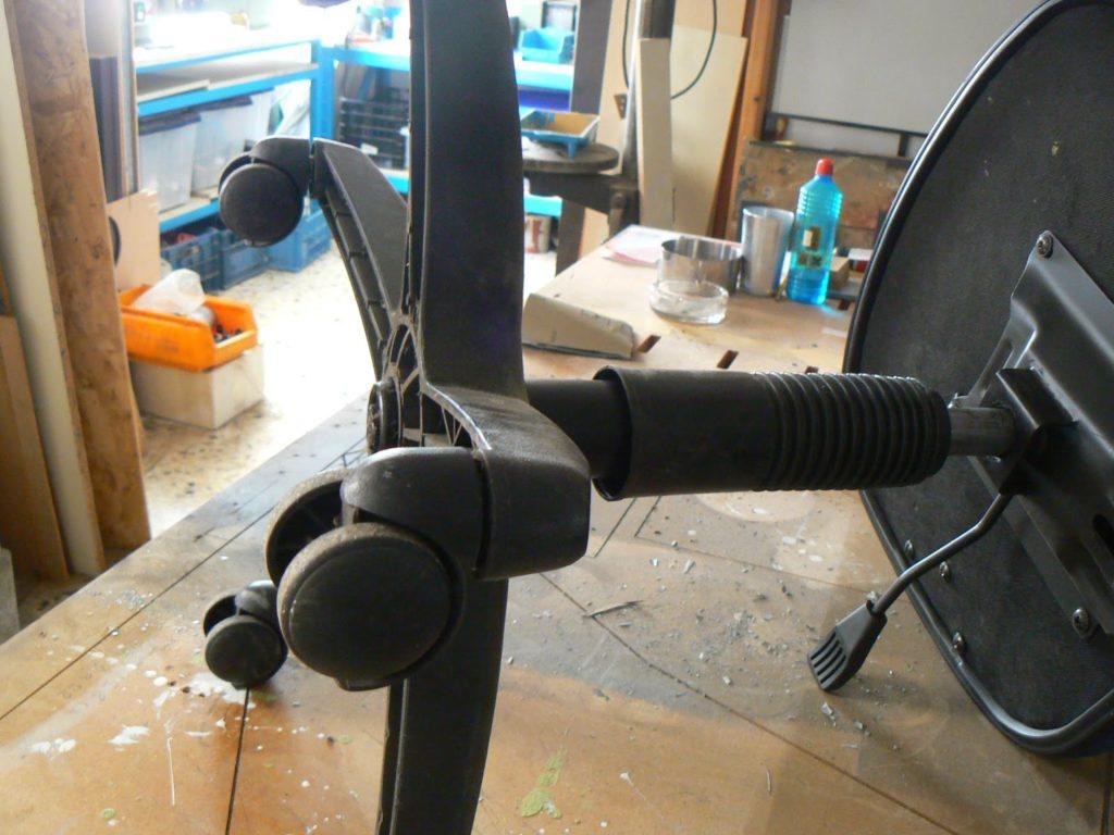 Μεταμόρφωση καρέκλας γραφείου, πως το έκανα