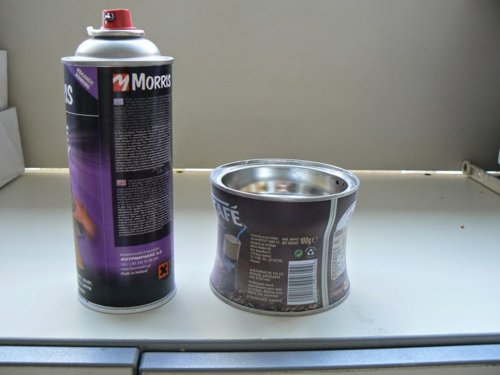 How to recycle a tin can