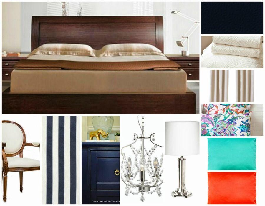 Μπλε τοίχος στην κρεβατοκάμαρα,  δεύτερη λύση ανακαίνισης, ιδέες, επιλογές