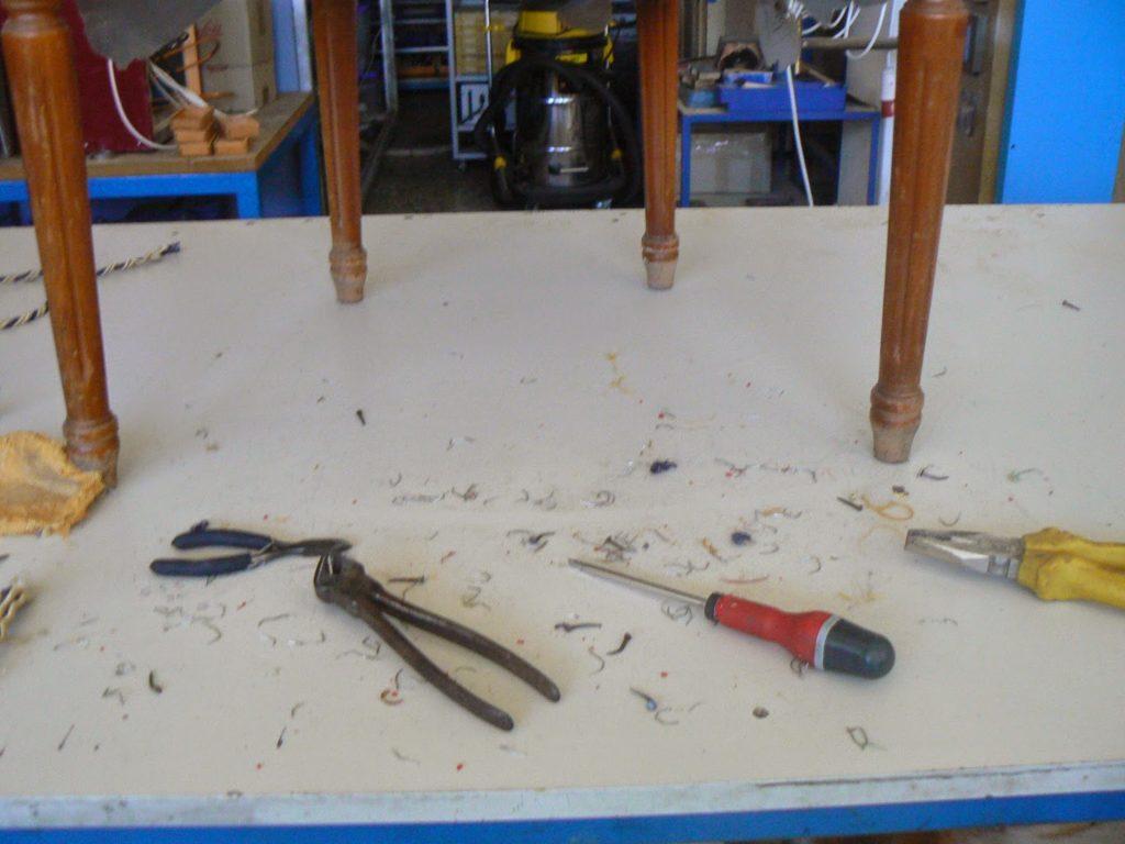 Επισκευή και μεταμόρφωση παλιάς πολυθρόνας