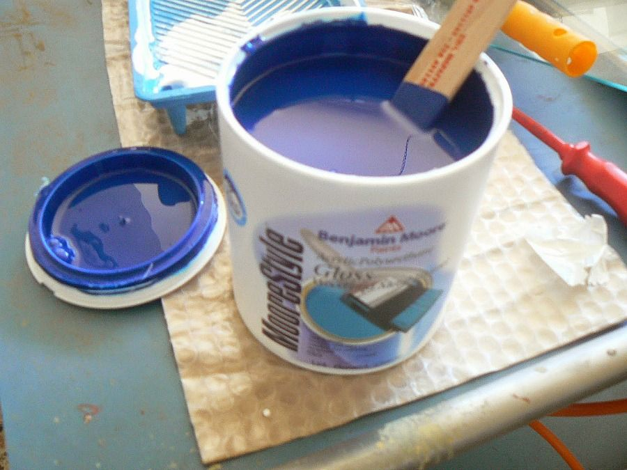 Benjamin Moore Blue royal color