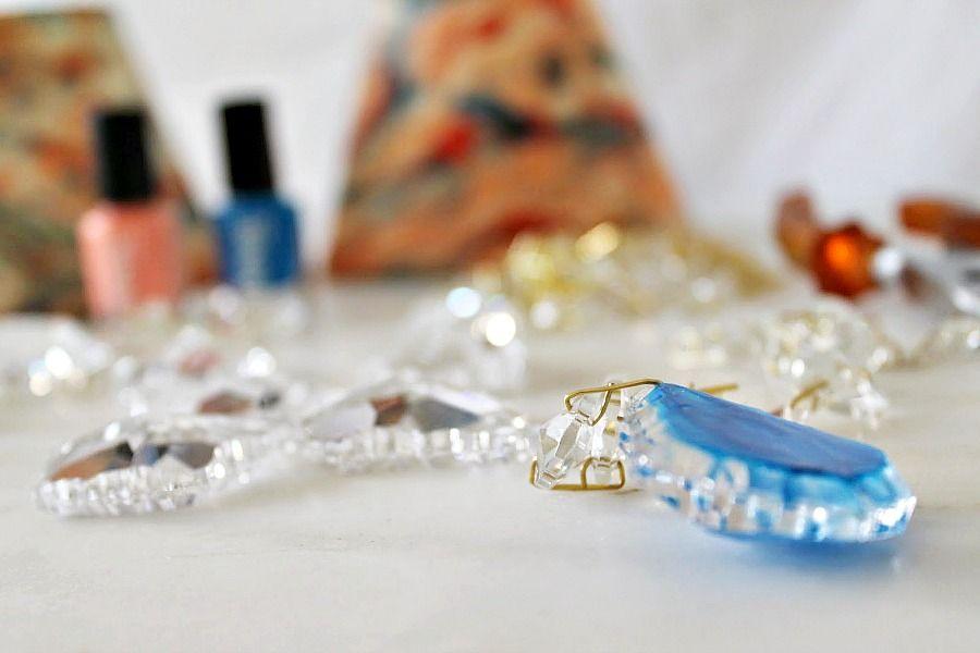 Πως να βάψεις γυαλί με βερνίκια νυχιών