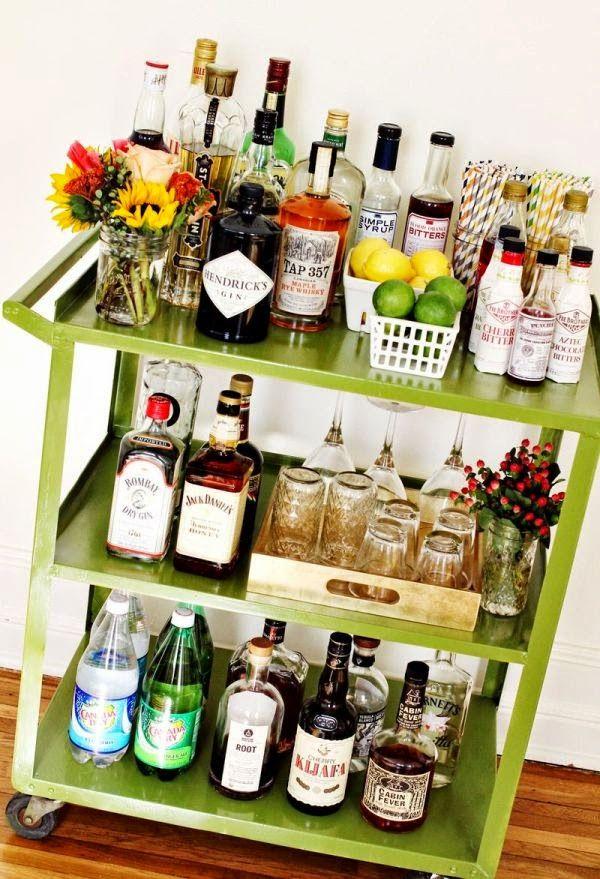 diy home coctail bar