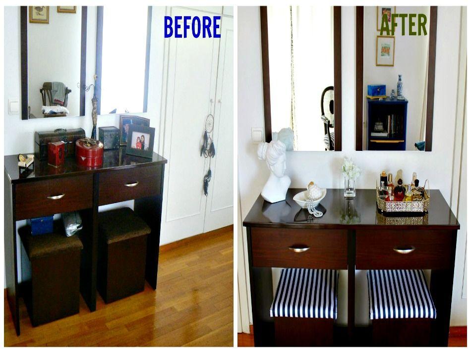 Το πριν και το μετά σε μια ανακαίνιση κρεβατοκάμαρας
