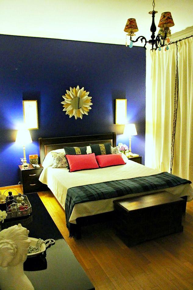 My gorgeous blue bedroom