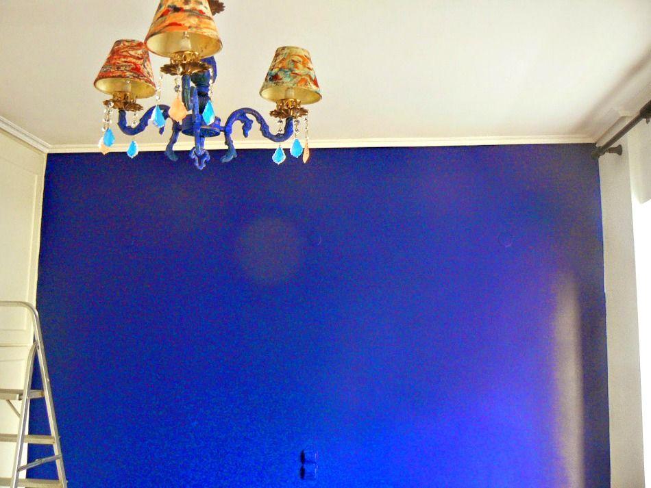 Ανακαίνιση κρεβατοκάμαρας σε μπλε χρώματα