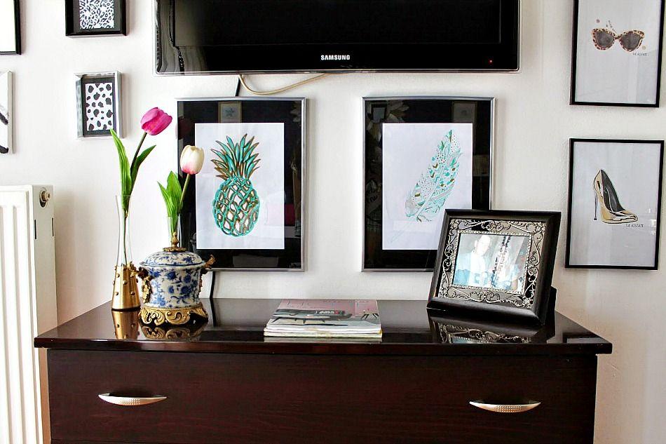 Πως να κρύψεις την τηλεόραση με μια wall gallery