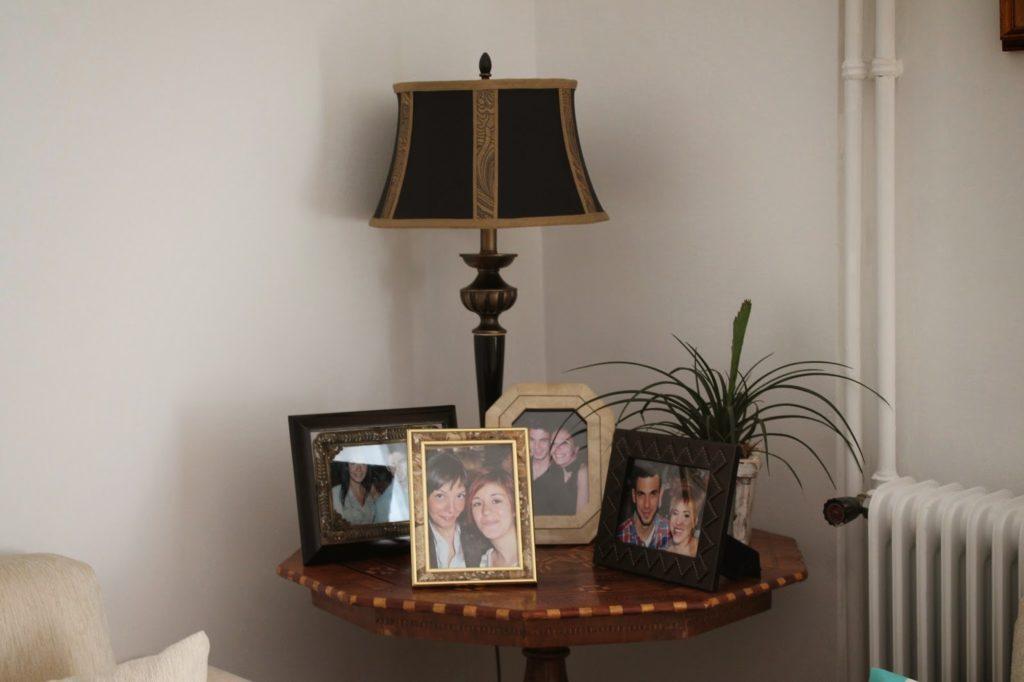 English antique lamp