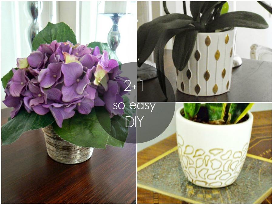 2+1 εύκολα DIY για να ομορφύνεις το σπίτι σου
