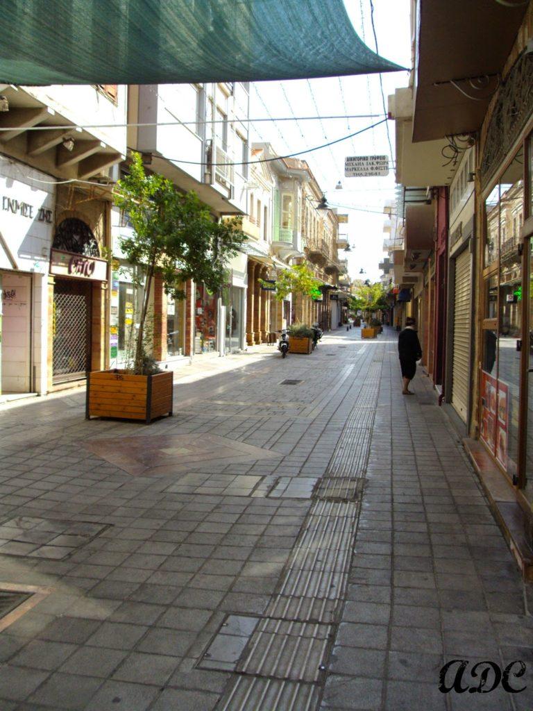 Η πόλη της Χίου, ο δρόμος της Απλωταριάς