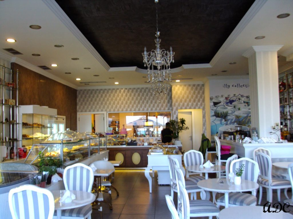 Pastry shop at the city of Chios