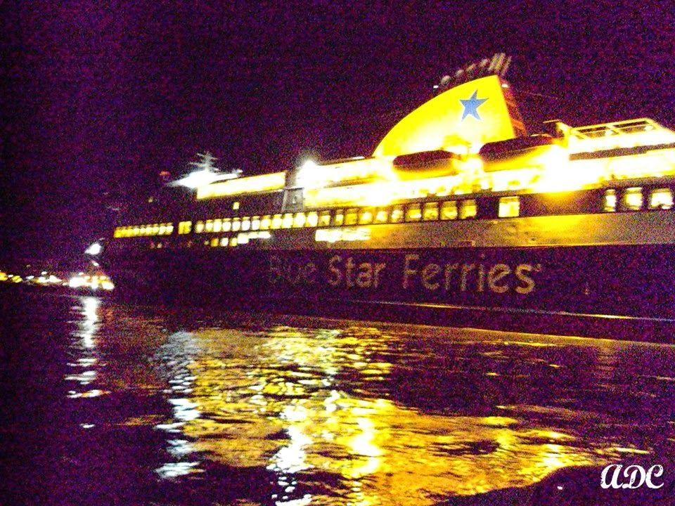Το πλοίο της επιστροφής στον Πειραιά