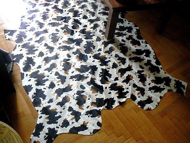 Χαλί αγελάδας από ύφασμα