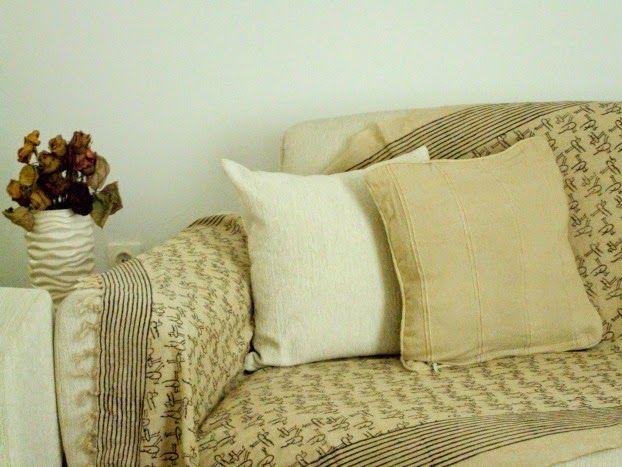 Φθινοπωρινή διακόσμηση, ριχτάρι και μαξιλάρια