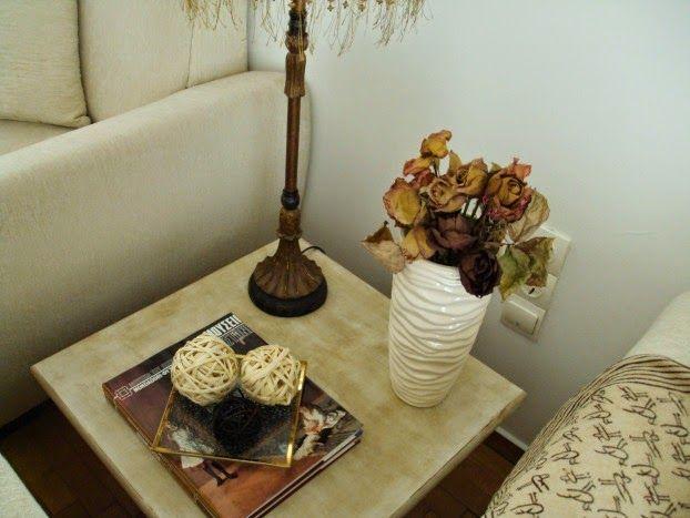 Φθινοπωρινή διακόσμηση στο σαλόνι
