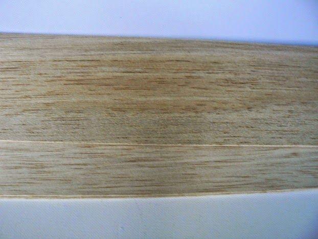 Wooden planks balsa