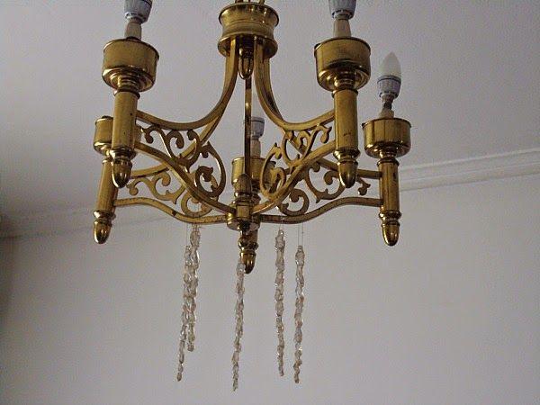 Bronze vintage ceiling light