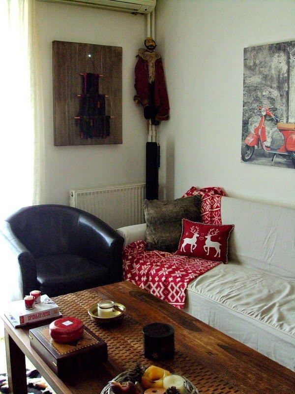 Χριστούγεννα 2014, διακόσμηση στο καθημερινό καθιστικό