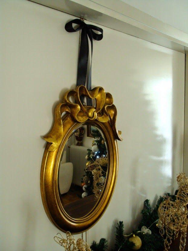 Χριστούγεννα με λάμψη, χρυσός καθρέφτης