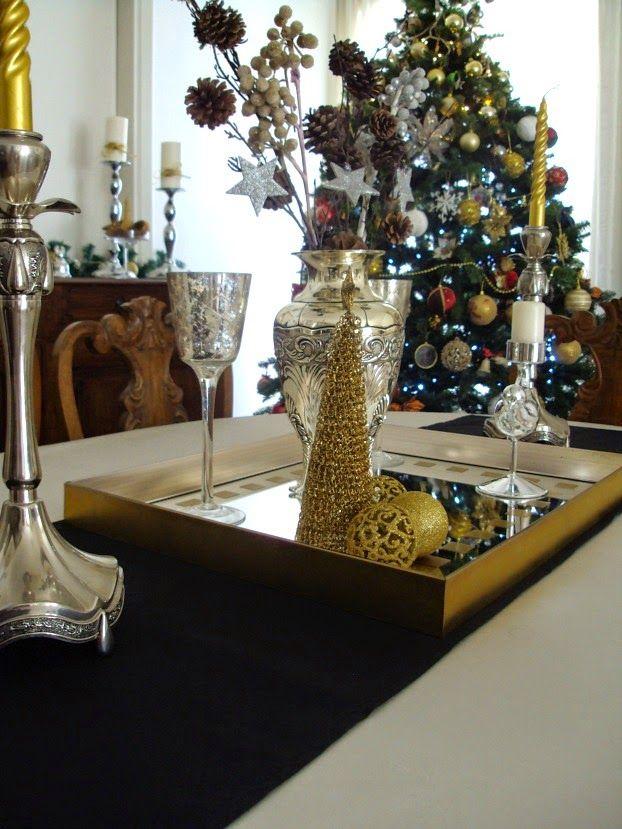 Χριστούγεννα με λάμψη στην τραπεζαρία