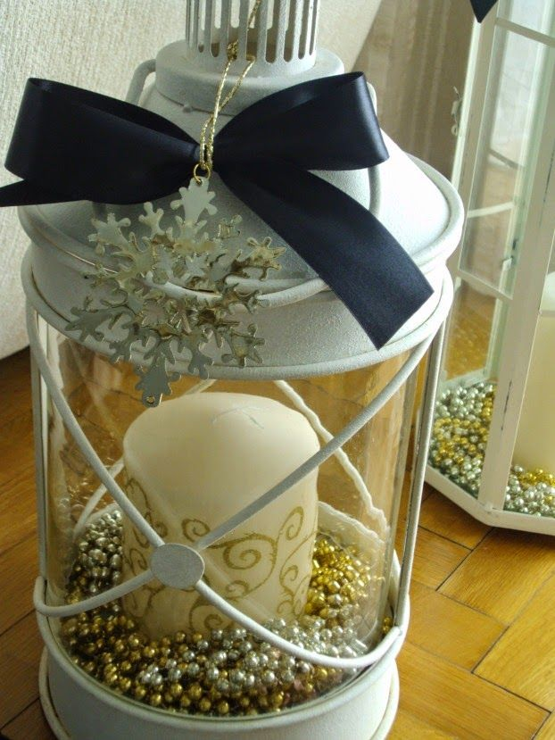 Christmas decor ideas, lanterns