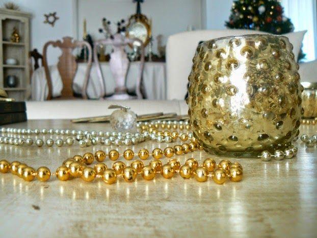 Zara Home gold tealight