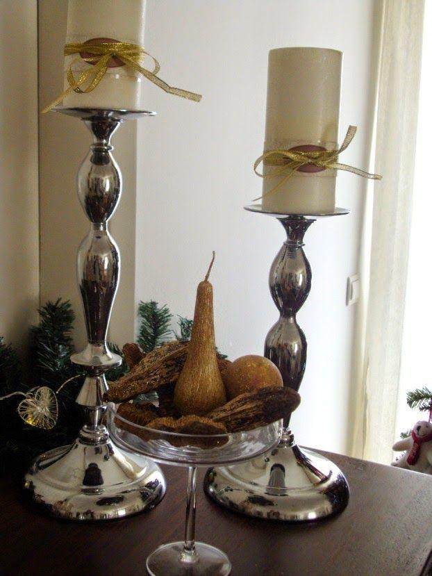 Χριστούγεννα με λάμψη, χριστουγεννιάτικα κεριά