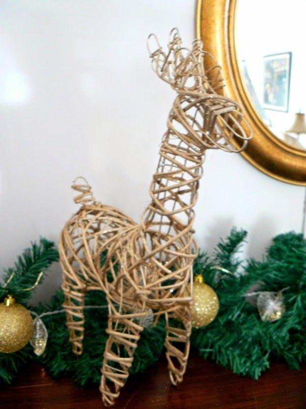 Χριστούγεννα με λάμψη, χρυσό ελάφι