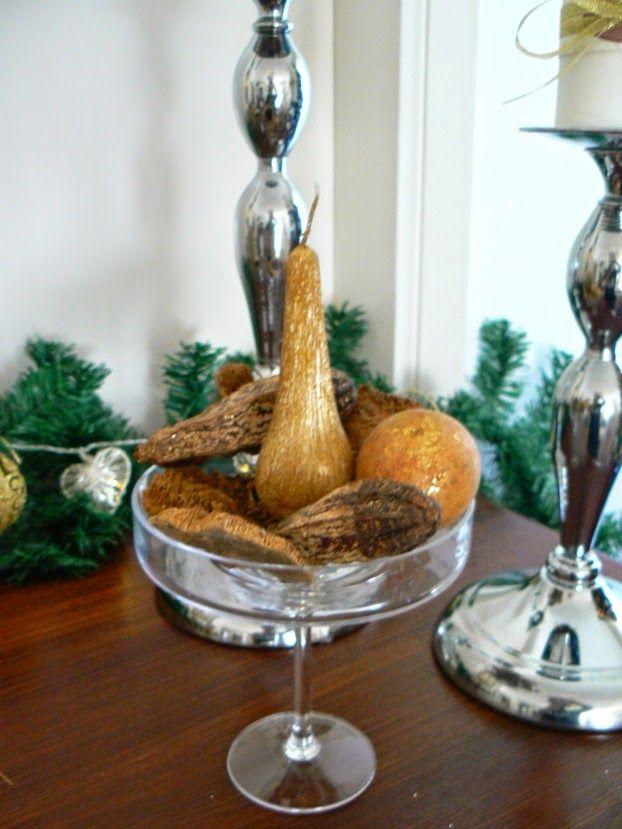 Χριστούγεννα με λάμψη, χρυσό κερί