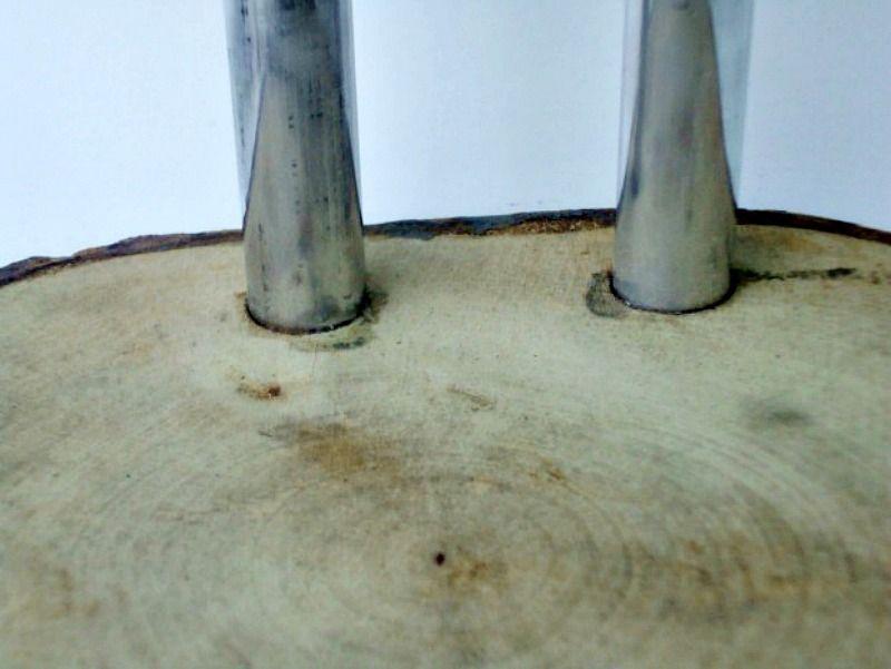 Φτιάχνω ξύλινη καφετιέρα από φέτες ξύλου