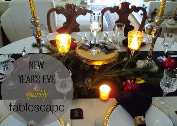 Παραμονή Πρωτοχρονιάς 2014, το τραπέζι μας