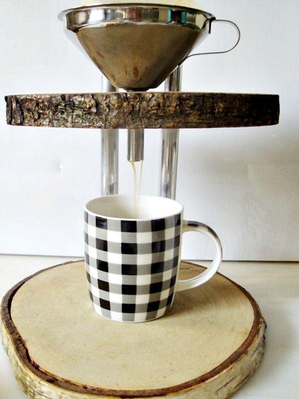 Ξύλινη καφετιέρα γαλλικού καφέ