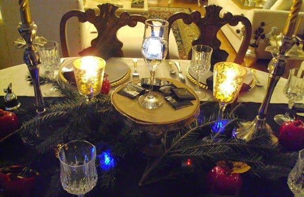 Παραμονή πρωτοχρονιάς στο τραπέζι