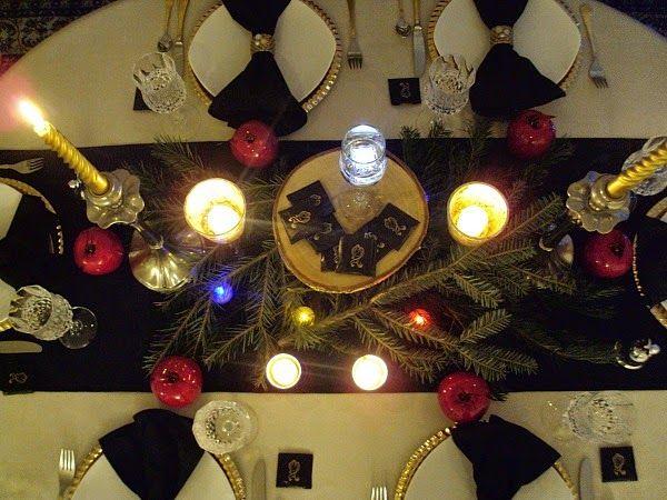Το πρωτοχρονιάτικο τραπέζι μας από ψηλά