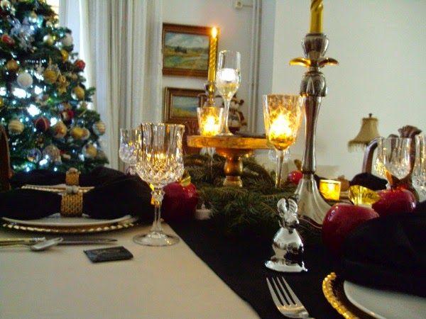 Παραμονή πρωτοχρονιάς 2014, το γιορτινό τραπέζι