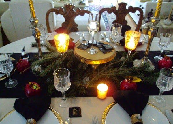Παραμονή Πρωτοχρονιάς 2014, γιορτινό τραπέζι