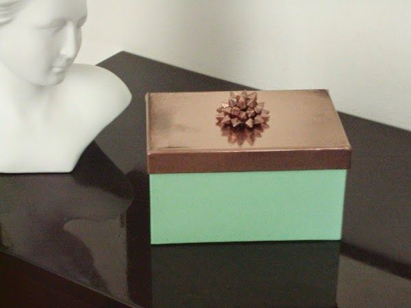 Mint jewelry box diy