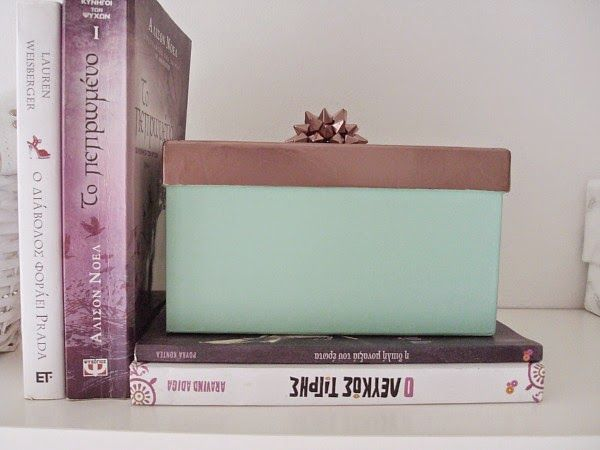 Mint storage box with copper lid diy