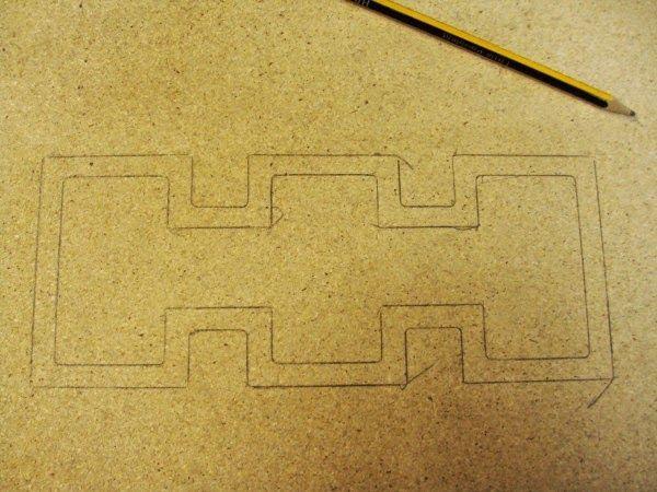 Σχέδιο ξύλινης βάσης diy λάμπας γραφείου