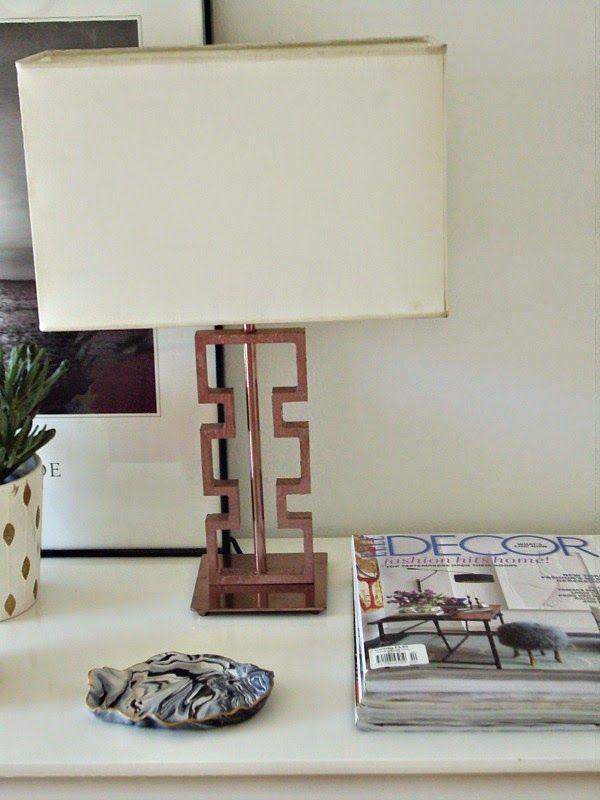 Μια λάμπα diy για το γραφείο, desk lamp diy