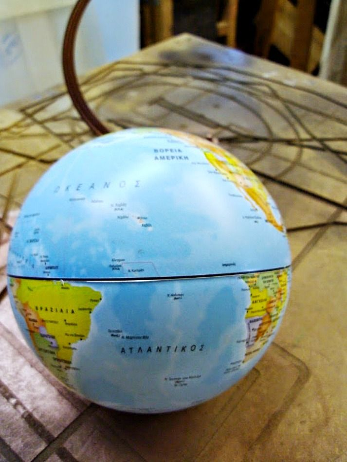 How to repurpose a globe
