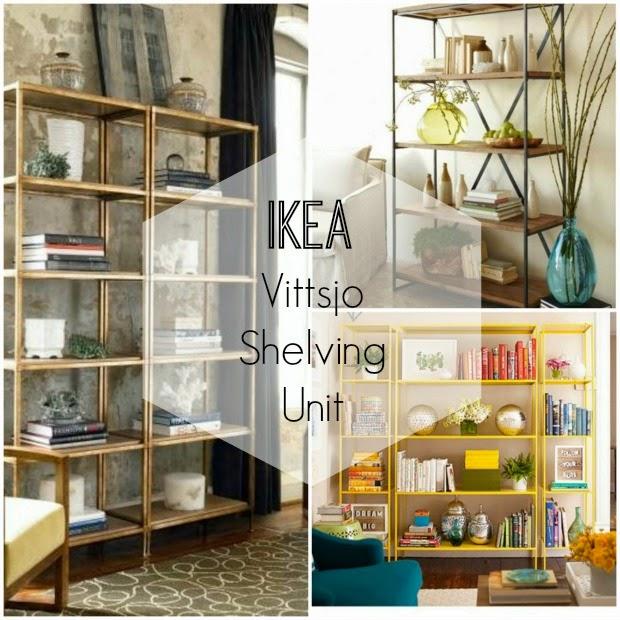 Ikea vittsjo βιβλιοθήκες, απλά τις λατρεύουμε!