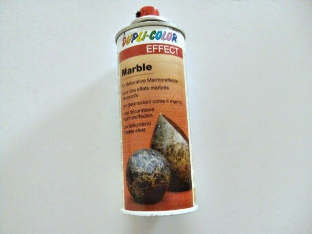 Dupli-color marble effect spray