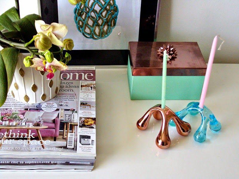 Cute modern candle holders