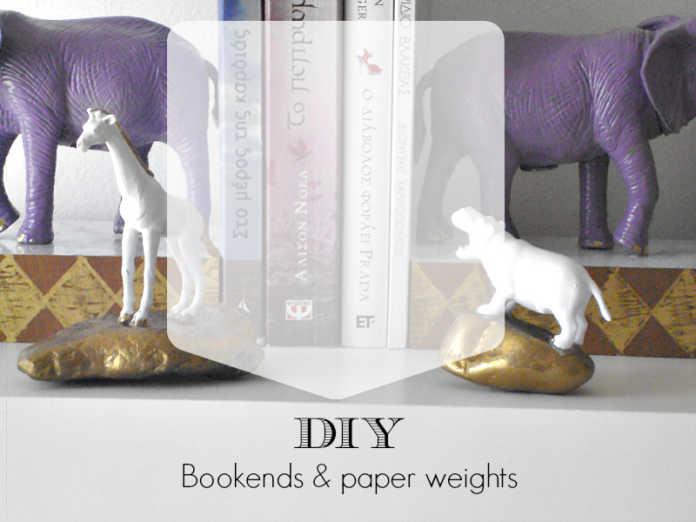 Βιβλιοστάτες και press papier από πλαστικά ζώα