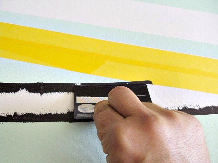 Wall birch art, how to make it