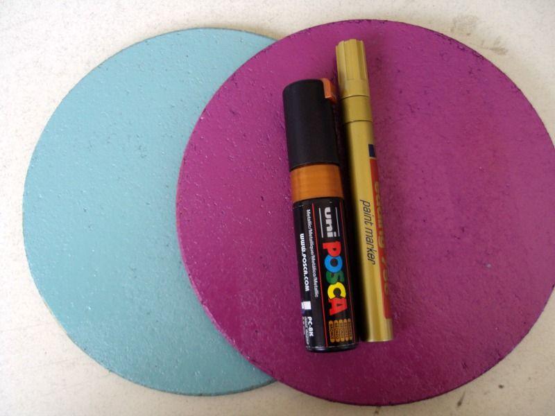Πως να φτιάξω πίνακες ανακοινώσεων από cork pads