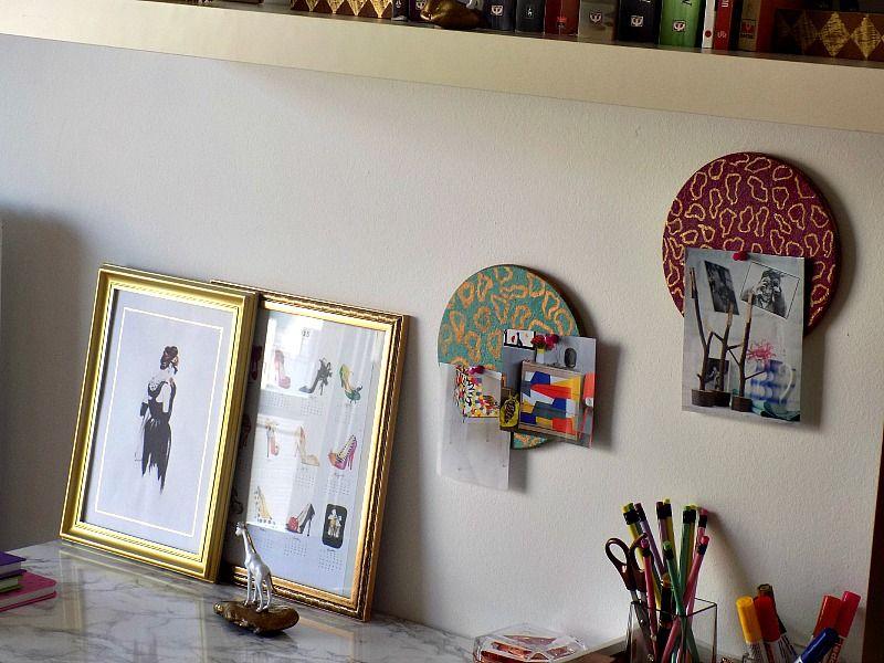 Το γραφείο μου στο σπίτι, πίνακες ανακοινώσεων από φελλό